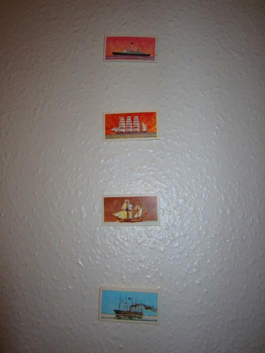 Wall art--ships